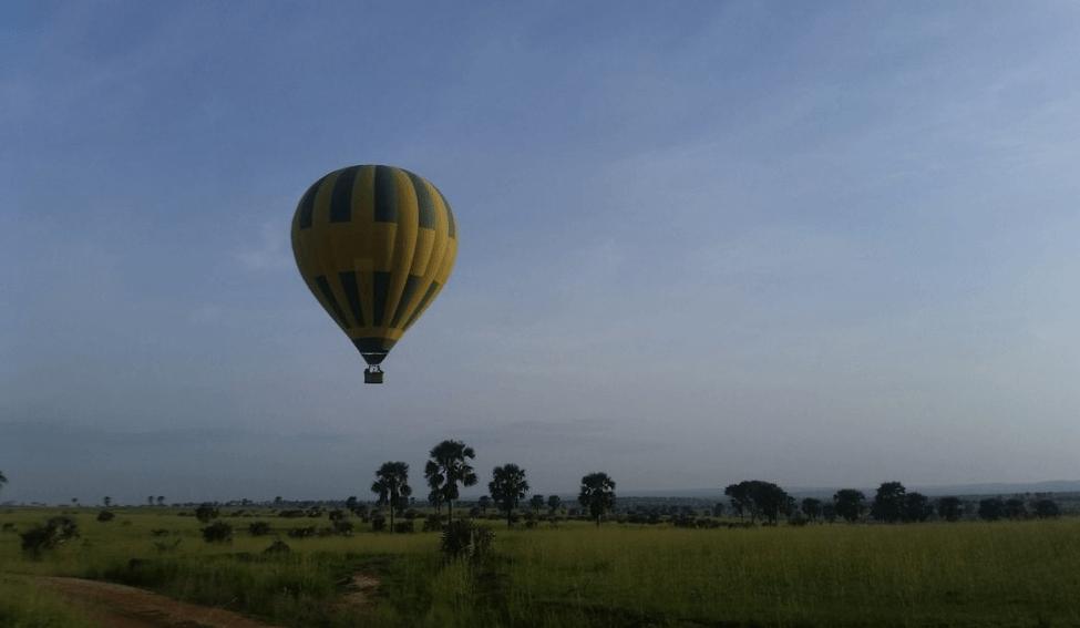 Hot Air Balloon Safaris in Murchison Falls National Park