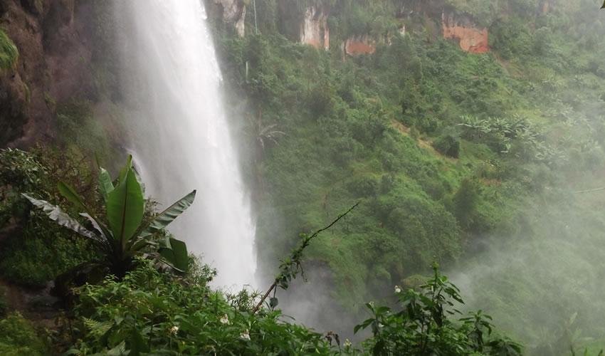 Visiting Sipi Falls In Uganda