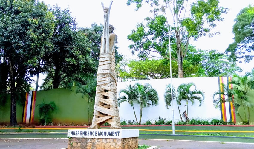 The Independence Monument is one of the Top 11 Tourism Places To Visit on a Kampala City Tour