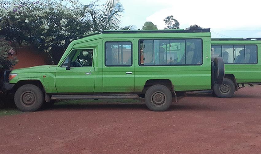 Safari Vehicle Hire in Uganda